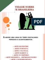 Atividade Sobre Arte Brasileira