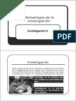 Clase Nº 02 Proceso de Investigación