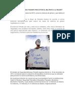 ?Qué Está Haciendo Panamá Para Evitar El Maltrato a La Mujer?