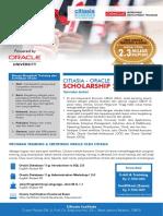 Citiasia Oracle Scholarship 2016