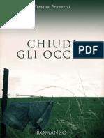 Chiudi Gli Occhi (Italian Editi - Simona Fruzzetti