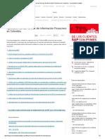 Aplicación de Las Normas de Información Financiera en Colombia - Comunidad Contable
