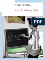 La Formula Preferida Del Profesor - Yoko Ogawa