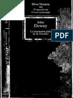 Dewey, John - La Reconstrucción de La Filosofía-Byn-opt
