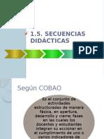 5. Secuencias didácticas