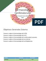 Drogas y Síndromes Cardiovasculares ICC