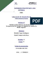 Informe 7 Lab de Inalambricas - Daniel Campoverde y Michelle Yager
