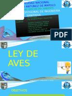 LEY DE AVES