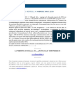 Fisco e Diritto - Corte Di Cassazione n 25318_2009