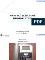 Manual Telefono ST2030 Ver1.3