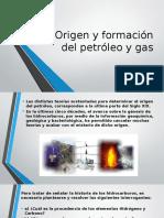 Origen y Formación Del Petróleo y Gas