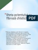 Dieta Pcientului Cu Fibroză Chistică