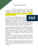 Jung, Carl Gustav - La función trascendente.doc