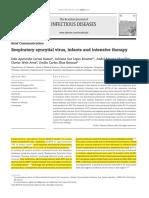 Correa 2012j El Virus Respiratorio Sincitial, Los Lactantes y Terapia Intensiva