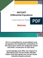 MAT2437 Intro