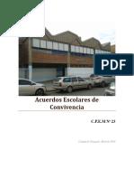 Acuerdos Escolares de Convivencia_CPEM 23