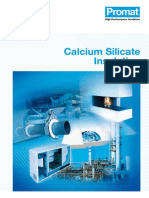 Calcium Silicate Insulation Brochure