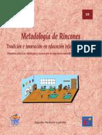 Metodología de Rincones (libro)