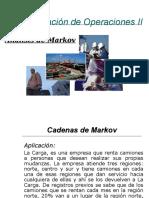 Cadenas de Markov 1 A