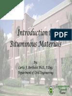 Introduction to Bituminous Materials