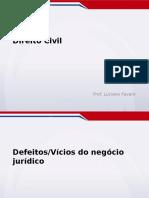 Aula5_civil Defeitos Vicios Do Negocio Juridico