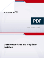 Aula5_civil Defeitos Vicios Do Negocio Juridico