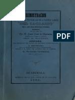 1865 - Demostracion Del Derecho de Propiedad de La Plazuela Llamada Del Sagrario