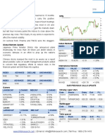 Indian Equity Market News and Report