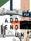 Final Copy - Addendum Magazine