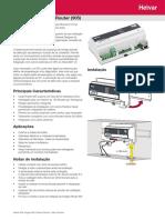 Helvar 905 Router Folha Tecnica Issue 02 PT 0