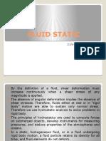 Fluidstatis