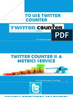 How to Use Twitter Counter