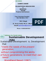 Sustainable Technnology & Climate Change M.P. Singh
