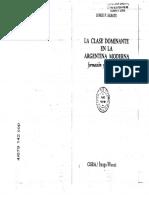 La clase dominante en la Argentina moderna
