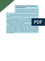 A Importância Da Construção de Campos Associativos Para a Produção Textual e Leitura
