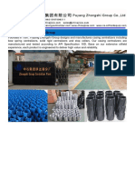 Puyang Zhongshi Group Supplying Solid Rigid Centralizers for Cementing Operation