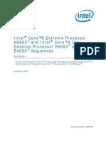 Intel  Core2 Extreme Processor