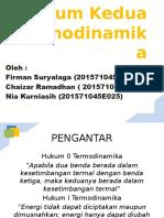 Hukum Kedua Termodinamika - Nia & Firman Revisi 2
