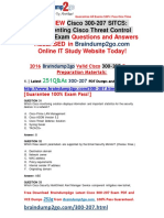 [2016.07.NEW]Cisco Exam 300-207 PDF 251q[31-40]