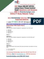 [2016.07.NEW]Cisco Exam 300-207 VCE Dumps 251q[21-30]