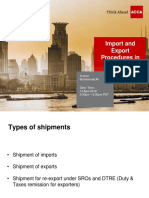 Import Export Procedures in Pakistan 15-4-2016 Final