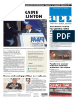 Asbury Park Press front page Thursday, July 28 2016