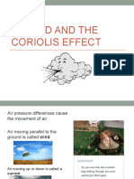 #2 Wind and Coriolis Effect