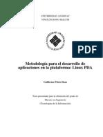 Metodología para el desarrollo de aplicaciones en la plataforma