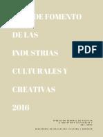 Plan Fomento Industrias 2016