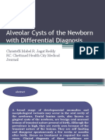 Alveolar Cysts of the Newborn with Differential Diagnosis.pptx