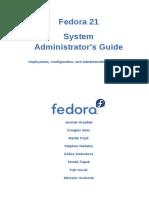 Fedora 21 System Administrators Guide en US