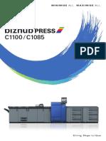 Bizhub Press c1100 c1085 Catalog e