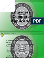 1 - Business Computer Application