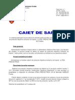 Caiet de Sarcini Paratrasnet Stadion